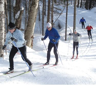Cross country skiing near Littleton NH