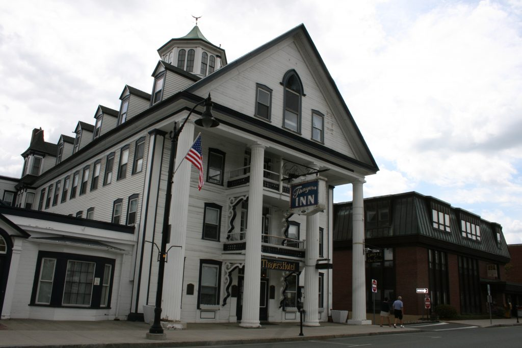Enjoy the fall colors, the arts, and the charm of New England at Littleton's historic Thayers Inn.