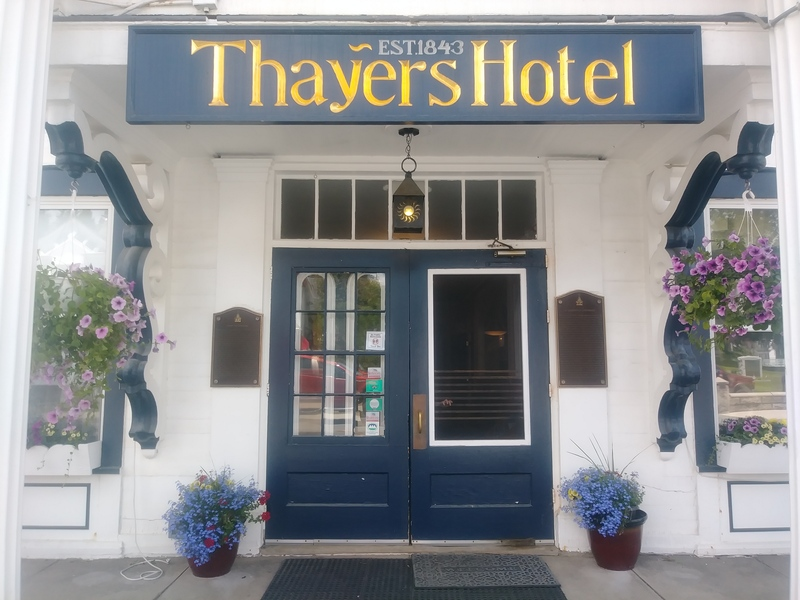 Enjoy your weekend getaways in New England with a stay at the historic Thayers Inn.