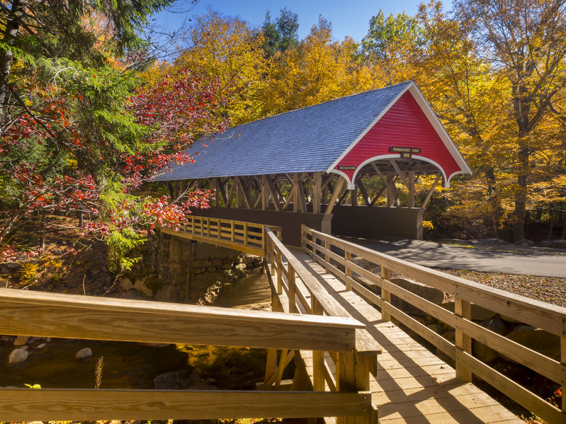 If you're looking for things to do in Littleton NH, the covered bridge is a must see!