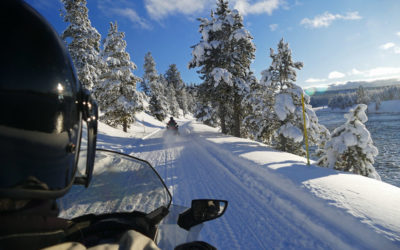 Top 3 Reasons to Try White Mountains Snowmobiling