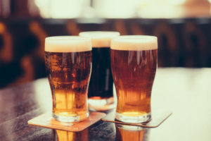 Another spring activity in the White Mountains is tasting some craft beer