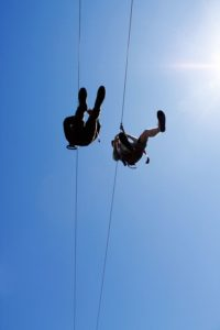 Try spring activities in the White Mountains like zip lining